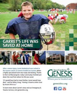 Genesis Print Ad Garret copy